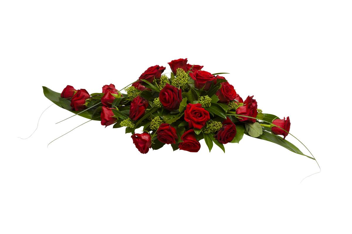 Hautajaiskukat No 1, Ruusu, hautavihko